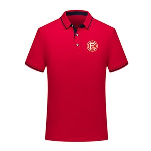 2020 Football fortuna dusseldorf Soccer Jersey Polos Marque POLO Polos de formation manches courtes adultes football polos POLO fans TOPS