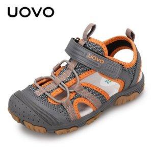 New Summer garçons Uovo Sandales Enfants Chaussures Pour Garçons fermé orteil Chaussures Plates taille 25-35