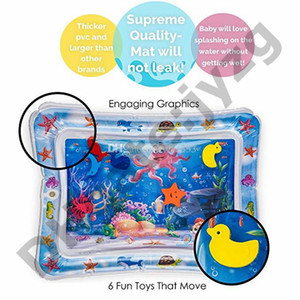 bambini gonfiabili Tummy Time Premium tappetino per l'acqua neonati I più piccoli è il momento perfetto divertimento Play Activity Center Your Baby's Stimulatio
