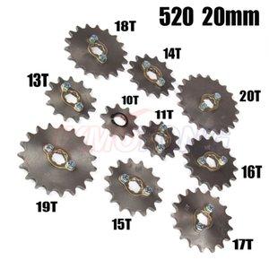 520 20mm del motor delantero piñones Para Lifan ZONGSHEN patio de ATV Dirt Pit moto motocicleta Buggy
