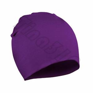Cap Hot Children Cap Baby's pure color Skull Cap Outumn and Winter Children's hat Cotton hat T6g6004