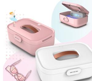 2020 Nueva botella de gran capacidad ropa doméstica esterilizadores UV Esterilizador Ropa de bebé Desinfección Esterilización Gabinete Caja LLY