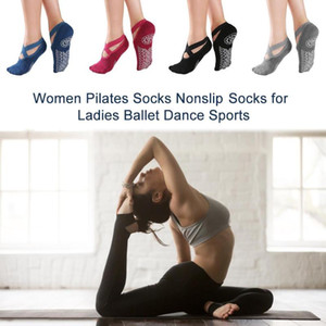 Factory Direct Women Pilates Socks Nonslip Yoga Socks For Ladies Ballet Dance Sports Support Dropshipping