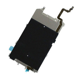 Main Metal Shield LCD Screen Plate Frame Part + Ear Speaker and Home Button Brackets (Holders) + Screws for iPhone 6 Plus