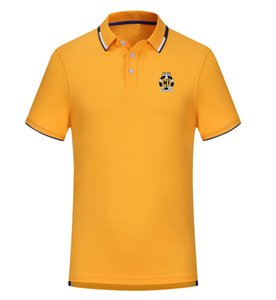 Cambridge United FC spring and summer new cotton football polo shirt men's short Sleep lapel polo can be DIY custom men's polo shirt