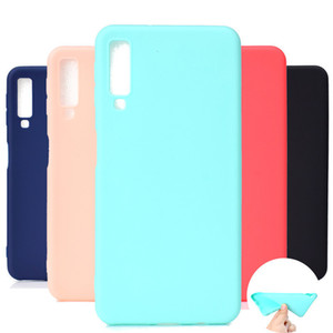 High Quality case for Samsung Galaxy A9 star a9s a8s A6s A8 A6 + A7 A5 A3 software TPU case color coverage cover by free shipping