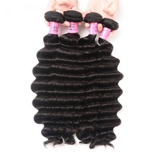 TKWIG hair icenu series 4 pcs loose deep wave virgin human hair weft