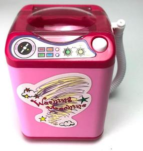 Mini elektrikli simülasyon çamaşır makinesi puf elektrikli çocuklar Aynı paragrafı Sallayarak puf sünger yıkama
