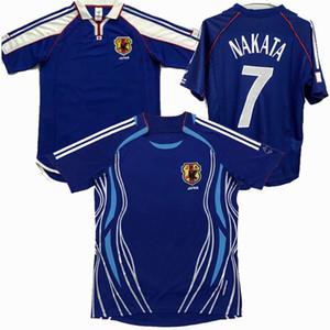2000 2001 2002 2006 Japonya retro futbol formalar Nakamura OGASAWARA NAKAZAWA NAKATA ENDO ev uzakta klasik Vintage Futbol spor gömlek