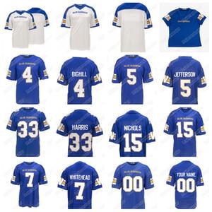 2020 Winnipeg Blue Bombers 12 Sean McGuire 15 Matt Nichols 4 Adam Bighill 33 Andrew Harris 5 Willie Jefferson Chris Streveler Jersey