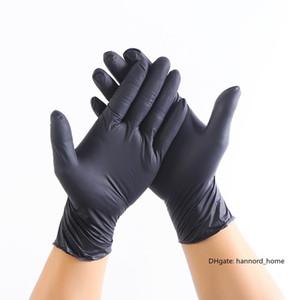 Nitrile Gloves Black 100pcs lot Food Grade Waterproof Allergy Free Disposable Work Safety Gloves Nitrile Gloves Mechanic