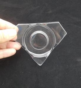 diamond shape False Eyelash tray Case Plastic Eyelashes Box holder Lash Package Box holders 300 pcs free DHL