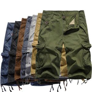 Hot Army Men Casual Pantaloni corti Camo Cargo Shorts da combattimento multi-tasca Trunks LA