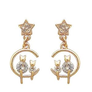 Célèbre High Grade 925 en forme d'argent Sterling Fan jupe robe femmes Boucles d'oreilles Saint Valentin cadeau Bijoux de mariage Haute Quanlity Hot vente