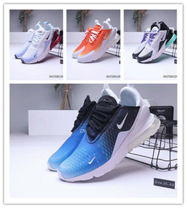 2019 designer Shoes Review 270 react men women run shoes 270s Phantom BAUHAUS OPTICAL Hyper Jade trainers sport men designer shoes size36-45