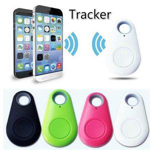 Vente chaude Animaux Bluetooth Smart Mini Tracker GPS anti-perte Enregistrement Suivi appareil Trackers Équipement Finder pour les clés Dog Cat Wallet Sac