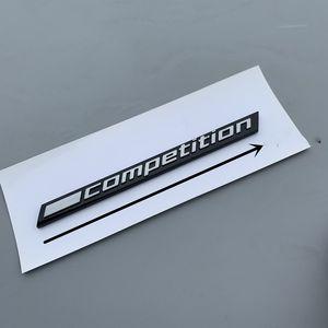 3D de Competencia BMW M2 Logotipo de la etiqueta Negro Emblema posterior del tronco del coche F90 3 5 7 Series E32 E34 E36 E38