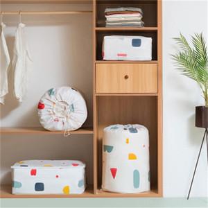 Immagazzinaggio della copertura Originalità Household Borsa in cotone a prova d'umidità Borse Abbigliamento Casa Moving Doggy Bag storage disegno popolare 5 5ydaH1