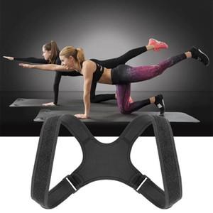 Corrección jorobada cinturón ajustable ayuda del hombro de Corrector de Postura espalda correcta Brace hombres de la correa de las mujeres de alta calidad