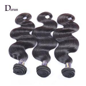A Body Wave 5 &Quot ;*5 &Quot ;Lace Closure 3 Ways Part With 3 Bundles Brazilian Virgin Hair Unprocessed Hair Bundles