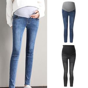 Prop Göbek Legging Pantalon Maternit Hemşirelik Moda Hamile Pantolon Hamile Kadın Jeans Hamile Pantolon Pantolon @ 45