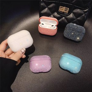 Glitter Bling Diamond Decor Headphone Cover For AirPods pro Bluetooth Earphone Protect case for Airpods 2 3 Bag Shell Accessories free DHL