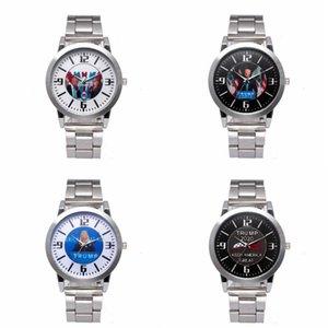DHL Shipping Quartz Wristwatch Trump 2020 Wrist Watches Alloy Stainless Strap Watch Fashion Retro Unisex Watches X183FZ