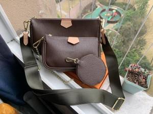 Yeni En İyi Kalite Çoklu Poşet Aksesuar Tasarımcısı Çantalar kadın çantaları Son varış bayan çanta modeli M44813 ücretsiz shippingM44840 cüzdan var