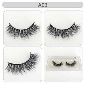 Messy Siberian Mink Eyelashes Super Soft Luxury Wholesale 100% Mink Lashes Thick Handtied Strip Lashes Makeup Good Quality
