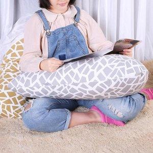 V-Shape Women Sleeping Body Neck Pillow Pregnancy Waist Support Cotton Pillow for Pregnant Women Maternity Nursing Bedding Acces