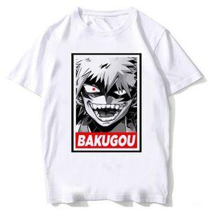 Nueva Boku No Hero Academia camiseta de mi héroe Academia animado camiseta de los hombres divertidos de la historieta izuku Midoriya Tops ¡Para la mujer del hombre macho