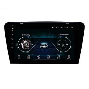 Système de navigation GPS Unité de voiture de voiture 10,1 pouces Android 9.0 pour 2015 -2017 SKODA OCTAVIA UV SUPPORT Caméra arrière USB Bluetooth USB Bluetooth