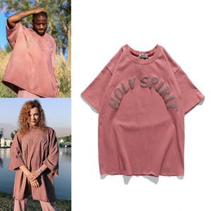 Saint T-shirt hommes et femmes de coton d'été Vêtements décontractés manches courtes T-shirt ras du cou Hauts Dropshipping