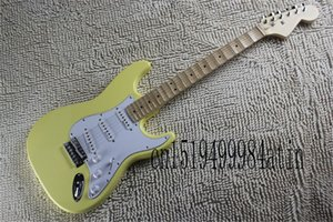 New Manufacturers to supply Stratocaster fretboard classic ST models creamy yellow groove guitar electric guitar