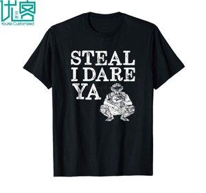Komik Softbol Catcher Hediye Çalmak Ben Cesaret Ya T Gömlek 2019 Yaz erkek Kısa Kollu T-Shirt