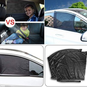 Two size L and S car sunshades side window curtain UV protection anti sunshine nylon mesh cover automotive exterior parts