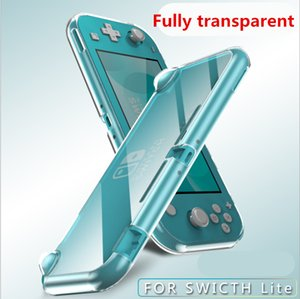 Simple, soft, delicate and transparent TPU silicone sleeve for Nintendo Switch Lite 3-color drop protection sleeve, hot sale