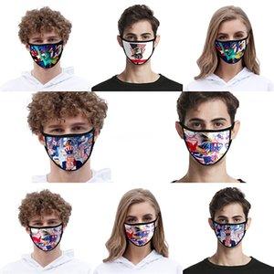 Em armazém Donald Trump Designer Luxo reutilizável lavável Pano de algodão Moda Rosto Mouth máscara mulher dos EUA homens unisex 17 estilos Fast Ship # QA566