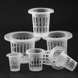 arden Pots & Planters Nursery Pots 50Pcs Hydroponic colonization Mesh Pot Net Cup Basket Hydroponic Aeroponic Planting Grow Clone Nur...