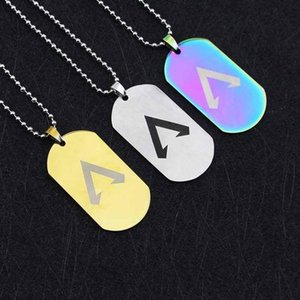 Game Apex Legends Necklace Fashion Stainless Steel Apex Legends Pendant Necklaces Gift Souvenirs Kids Jewelry Party Favor CCA11502-A 60pcs