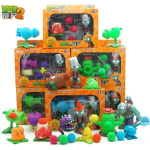 Aksiyon Filmleri Oyunları Şekiller BB silah başlatmak Can Zombiler komik Oyuncak Noel Paskalya yılbaşı çocuk hediye Tam Set vs popüler oyun Bitkiler