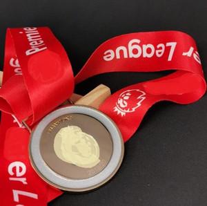 2019/20 P Ligue médaille d'or BARCLAYS Football alliage Artisanat avec rouge P Ligue RUBANS Diamètre 55mm Nouveau Collections ou comme cadeaux