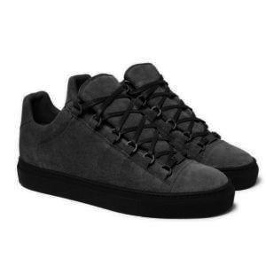 Giuseppe Zanotti  sapatos de grife Homens Mulheres Moda Meias Sapatos Arena Lace Up Sapatilha hococal Ao Ar Livre Corrida Runner couro genuíno grande tamanho 35-47