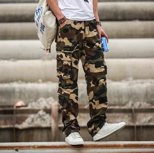Cargo Pants Men Camouflage Tactical pantaloni stile di combattimento dell'esercito Abbigliamento maschile Jogger Multi Pocket Camo Trousers1