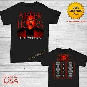Hot The Weeknd Shirt After Hours Tour 2020 T-Shirt Merch Concert T-Shirt