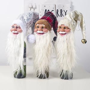 Weinflasche Taschen Weihnachtsdekorationen Weinflasche Geschenk-Taschen Champagne Weinflasche Taschen Geschenk-Beutel Verpackung Beutel Hochzeit Festliche