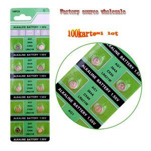 1000PCS الجديد AG1 ووتش البطارية 621 LR621 SR621SW 364A 1.5V LR60 البطارية القلوية زر لمعرفة السعر مدار الساعة آلة حاسبة مصنع المبيعات المباشرة