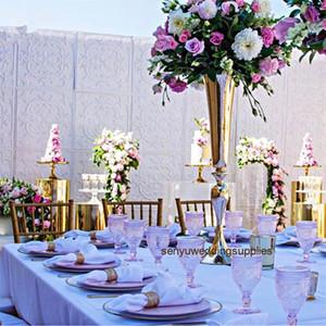 Новый стиль свадьбы украшение Дорожки Stand Столб цветочный роуд Lead для свадебного стола senyu0193