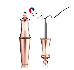 Neue heißen magnetischer Eyeliner Lange Liquid Eyeliner Dauerhafte magnetischer Saugstark Wimper Eyeliners Wasserdicht Sweat-proof Kajal