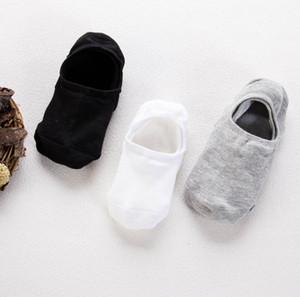 5 Pairs Mens Socks Boat Non-Slip Invisible Nonslip Low Cut Soft Breathable Cotton Silicone Slip Summer Autumn Short Sock